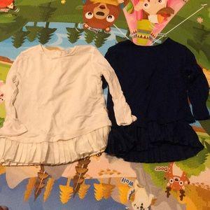 2 Ralph Lauren pullover shirts